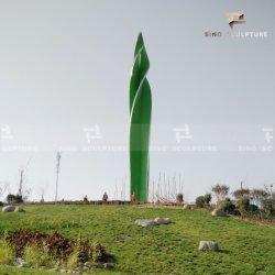 Edelstahl-Skulptur-Oberfläche angestrichene Landschaftsgrenzstein-Skulptur