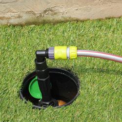 흡입구 플라스틱 물 관수 급속 취수 지하 커플링 밸브