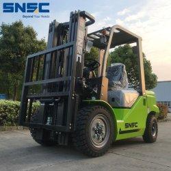 Chariot élévateur à fourche diesel de 3 tonnes moteur Nissan pour la vente avec pneu solide
