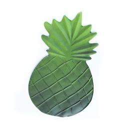 Ananas formte EVA-Blatt geglaubten wasserdichten Gleitschutzsommer Placemats