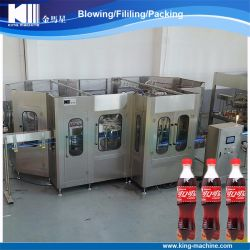 Fabricante China de gas de llenado de bebidas carbonatadas de la planta de sellado