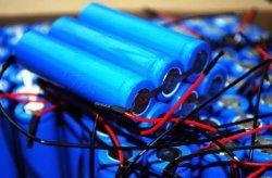 12V 18650 2600mAh Bateria Li-ion LiFePO4 Bateria de Scooter
