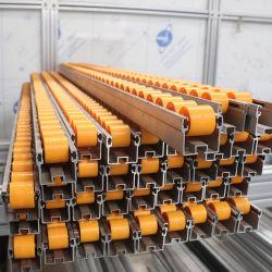 Transportband van de fabriek paste Spoor van de Rol van het Aluminium van het Wiel van het Spoor van de Dia het Plastic aan