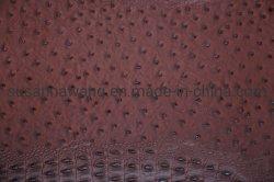 Bl1918 El cocodrilo y Avestruz Aritificial repujado de cuero sintético de PVC para bolsas&& Sillas sofá
