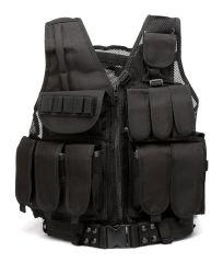 Maglia tattica respirabile con i numerosi sacchetti - maglia di addestramento al combattimento registrabile per gli adulti adatti a missione speciale, addestramento al combattimento