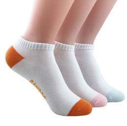 Tricotado simples respirável Mulheres Homens da tripulação de bambu vestir meias personalizado de tornozelo 100% meias de fibra de bambu orgânico para homens