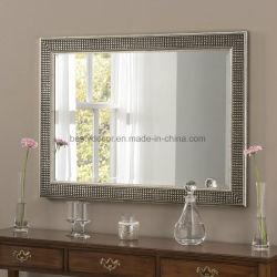 Marco espejo de pared decorativo espejo enmarcado de madera