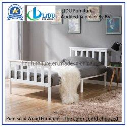 Cama de madeira para dormir em casa da estrutura do leito da Base de conforto, altura de armazenagem Under-Bed
