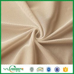 Polyester dry fit T-shirt personnalisé vide, anti UV, l'humidité, tissu à mailles Quick-Drying mèche