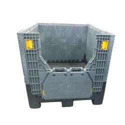 HDPE Recipiente de plástico apilables plegables para la mayor parte/grandes plegables