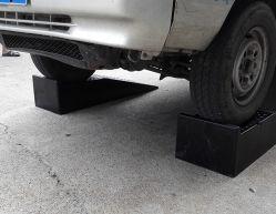 رافع عجلات إصلاح السيارات ذات الأسياط ذو الأراديب المطاطية