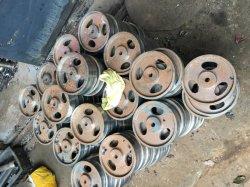 Qualitäts-Aluminiumroheisen u. Stahlzahnriemen-Riemenscheibe