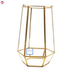 De Kubus van het glas/Decoratie van het Huis van de Kandelaar van de Houder van de Kaars Square/Rectangular de Vastgestelde