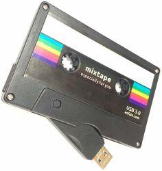 Музыка флэш-накопитель USB кассеты USB-накопитель USB кассеты для записи дисков пера