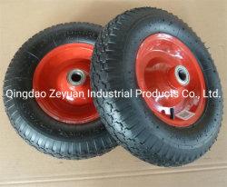 4.00-8 4pr Roue pneumatique utilisé pour la brouette roue