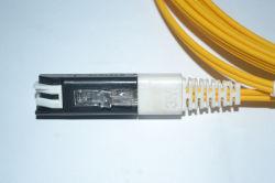 Ponticello ottico di Patchcord della fibra di Vf45-LC MP/millimetro, cavo ottico della zona della fibra, zona ottica della fibra