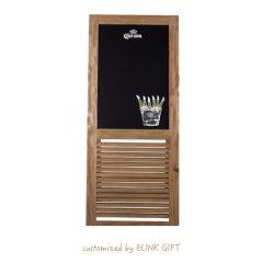 昇進棒レストランの喫茶店の使用の自由な地位フレームの木製の黒板の黒板