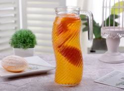 Los Estados Unidos la lanzadora de agua de cristal Popular conjunto zumo de Vidrio Jarra Copa