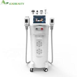 Meilleure vente Leadbeauty 5 poignées Cavitaiton RF Cryolipolysis Slimming Machine pour la perte de poids La perte de poids corps façonner