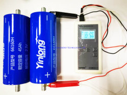 ناقل كهربائي أصلي من Yinluding أصلي عالي الجودة يستخدم 2.3V 45ah بطارية Lto66160h Ltuttanate قابلة لإعادة الشحن LTO لطاقة الشمس تخزين صوت السيارة