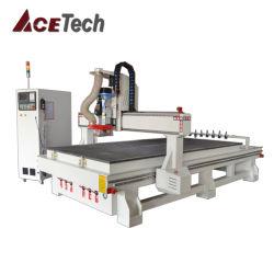 CNC van de houtbewerking Atc 1530 van de Router voor Houten Kabinetten 1325 van Furnitures van de Deur Houten het Uithollen en van de Gravure Machine/3D MDF Acryl Scherpe Machines 2030/2040 van het Triplex