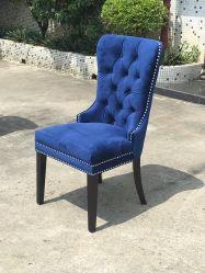 Chaise de salle à manger PU /Fabric/ salle à manger de la jambe de bois/hôtel