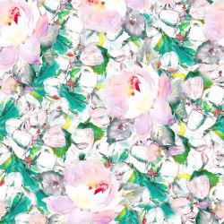 Última impressão digital personalizado vestido de tecido de seda