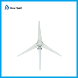 De horizontale Turbine van de Wind met de Nylon Bladen van de Vezel 100W