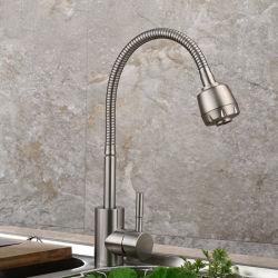 Уникальные высокого качества одного холодной водой под струей горячей воды в коммерческих целях кухня под струей горячей воды с выдвижной опрыскивателя