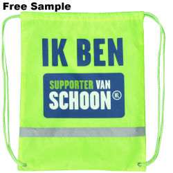 Reclame Promotie Polyester Nylon Sports Gym Drawstring Rugzak Drawstring Bag