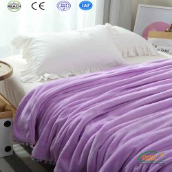 Nieuwe Koningin Van uitstekende kwaliteit Size Cozy Blanket Bedding Reeks van de Aankomst