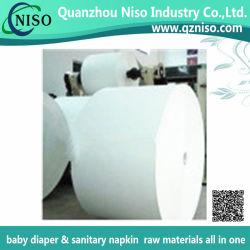 Celulose Fluff branco sem tratamento para dermatite das fraldas com marcação (LS-1121)