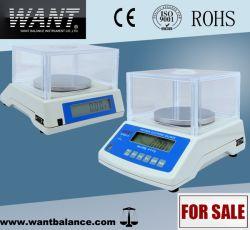 500g 0.01g Doppelt-Bildschirmanzeige-elektronische Tischplattenschuppe