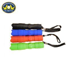 1*AAA het Mini Plastic Flitslicht van de batterij, de Toorts van de Gift van de Bevordering