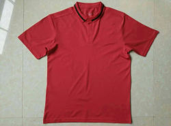 2016 camice di colore rosso di polo di modo di stagione