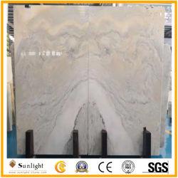 Natural blanco de alta calidad Onyx de piedra pulida para la decoración mural interior proyecto hotelero de lujo