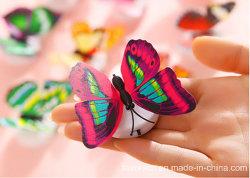 도매 나비 모양의 LED 색상 변화 캔들