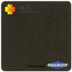 Черный матовый гибридной технологией порошковой окраски (P05T90046M)