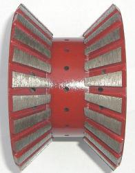 Muelas CNC segmentada de Granito - doble borde alivió