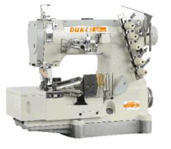 Alta velocidad, máquina de coser de bloqueo Cylinder-Bed para coser Hemming Dk500-02bb