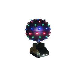 Um-L115 Lamp Drie van de enige LEIDENE Lichten van Satge Grote Bal, LEIDENE 15W, de Roterende Hoge Helderheid van het Effect, LEIDENE Met lange levensuur Magische 3 in 1 Bal van Drie Kleur