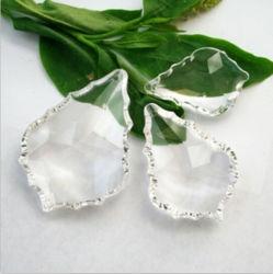 Ahornblatt geformte Kristallperlen für Kronleuchter