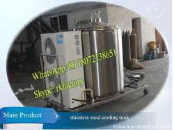 Abkühlende Kapazität des vertikale Milch-kühlende Becken-1000liter