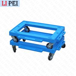 Uso intensivo de aluminio Venta caliente Dolly Carrito para caja de volumen de negocios logística