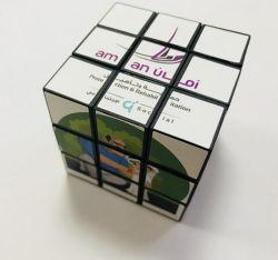 Benutzerdefinierte Druck Werbe Spielzeug Kunststoff Magie Puzzle Würfel für Geschenk Spielzeug