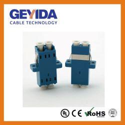 LC/UPC duplex do adaptador de cabo de fibra óptica