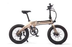 Bicicletta portatile della strada di città da 16 pollici E con la batteria impermeabile