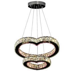 Illuminazione a cristallo moderna dell'interno del lampadario a bracci con K9 per la stanza del pranzo