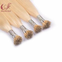 Blonde Nano валик клея человеческого волоса расширений российской Nano Совет белка лечение волос расширений двойной обращено Nano кольцо волос