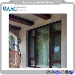Aluminiumaluminiummetallschiebendes Fenster/Tür und Flügelfenster